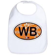 Wrightsville Beach NC - Oval Design Bib