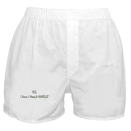 HAIRCUT Boxer Shorts