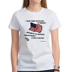 Blanket of Freedom Grandson Tee