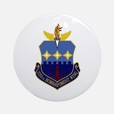 320th Bomb Wing Ornament (Round)