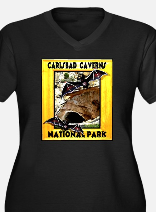 Carlsbad Caverns National Par Women's Plus Size V-
