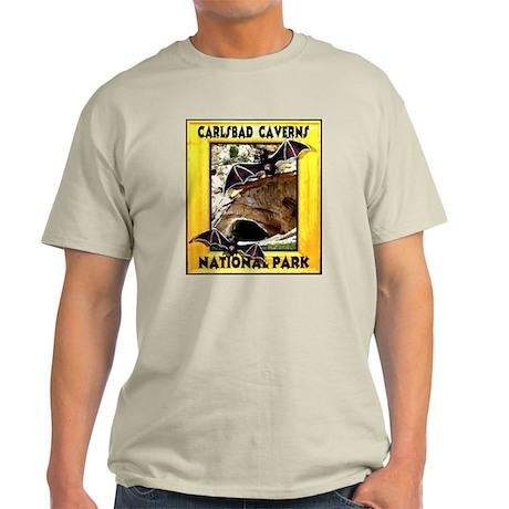 Carlsbad Caverns National Par Light T-Shirt