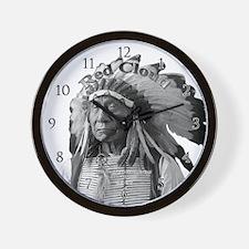Red Cloud 02 Wall Clock