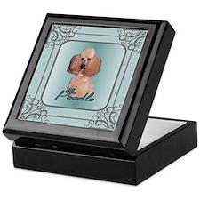 Poodle Gifts Keepsake Box
