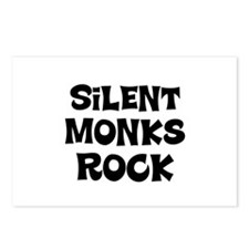 Silent Monks Rock Postcards (Package of 8)