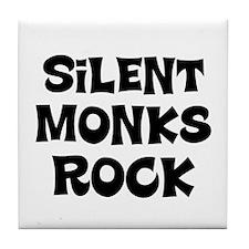 Silent Monks Rock Tile Coaster