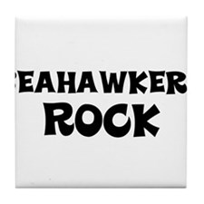 Seahawkers Rock Tile Coaster