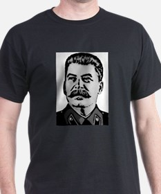 Stalin Black T-Shirt