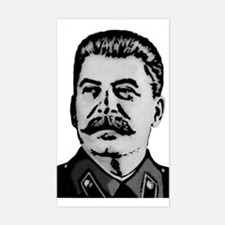 Stalin Rectangle Decal