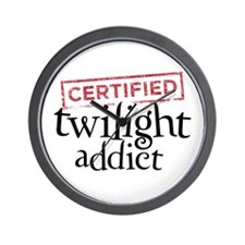 Certified Twilight Addict Wall Clock