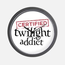 Certified Twilight Addict Wall Clock