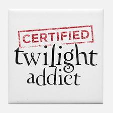 Certified Twilight Addict Tile Coaster