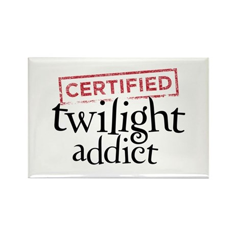 Certified Twilight Addict Rectangle Magnet (10 pac