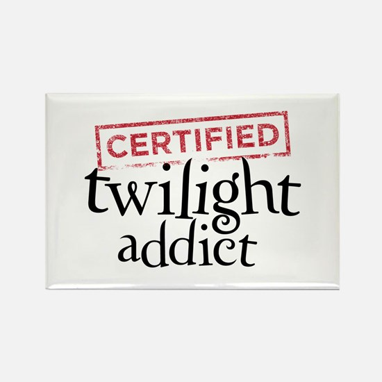 Certified Twilight Addict Rectangle Magnet