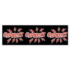 Crunchy Bumper Bumper Sticker