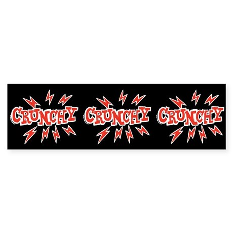 Crunchy Sticker (Bumper)