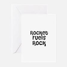 Rocket Fuels Rock Greeting Cards (Pk of 10)