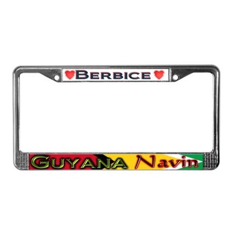 NAVING Classic License Plate Frame
