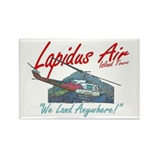 Lapidus Air Rectangle Magnet