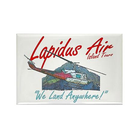 Lapidus Air Rectangle Magnet