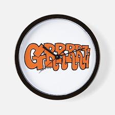 GRRRRL ! Wall Clock