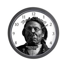 Red Cloud 03 Wall Clock