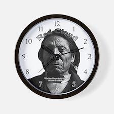 Red Cloud 03 Wall Clock