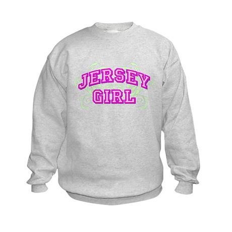 Jersey Girl Flourish Kids Sweatshirt