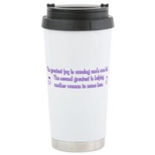 Greatest Joy - Travel Coffee Mug