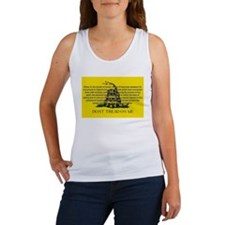 DONT TREAD ON ME for Independ Women's Tank Top