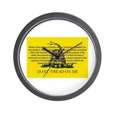 DONT TREAD ON ME for Independ Wall Clock