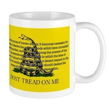 DONT TREAD ON ME for Independ Mug