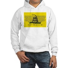 DONT TREAD ON ME for Independ Hoodie