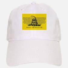 DONT TREAD ON ME for Independ Baseball Baseball Cap