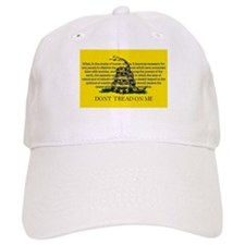 DONT TREAD ON ME for Independ Baseball Cap
