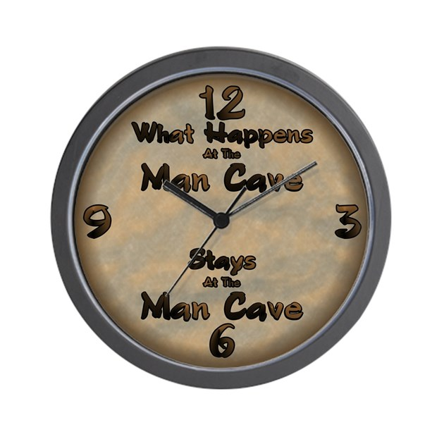 Man Cave Clock : What happens at the man cave wall clock by jinjinjunction