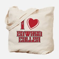 I Heart Edward Cullen Tote Bag