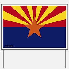 Arizona Flag Yard Sign