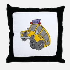 Funny School Throw Pillow