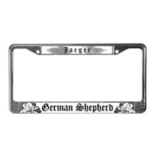 The Soul Of A GSD(For Justin)License Plate Frame