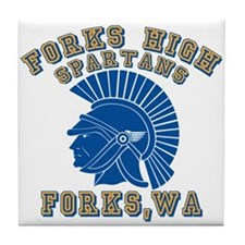 Forks High Spartans Tile Coaster