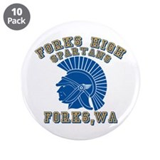 """Forks High Spartans 3.5"""" Button (10 pack)"""