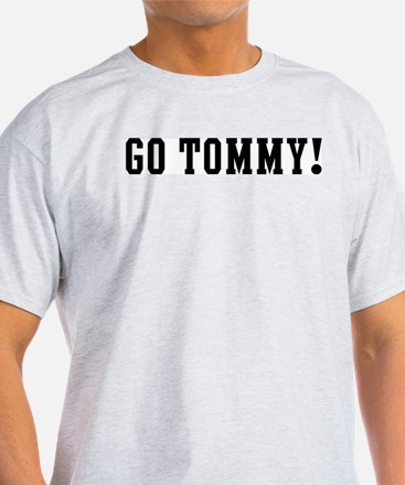 Go Tommy Ash Grey T-Shirt