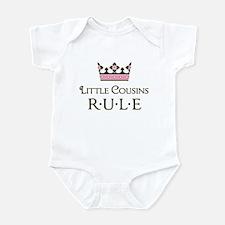 Little Cousins Rule Infant Bodysuit
