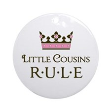 Little Cousins Rule Ornament (Round)