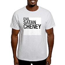 Evil > Satan > Cheney Ash Grey T-Shirt