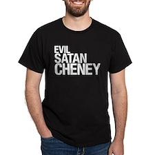 Evil > Satan > Cheney Black T-Shirt