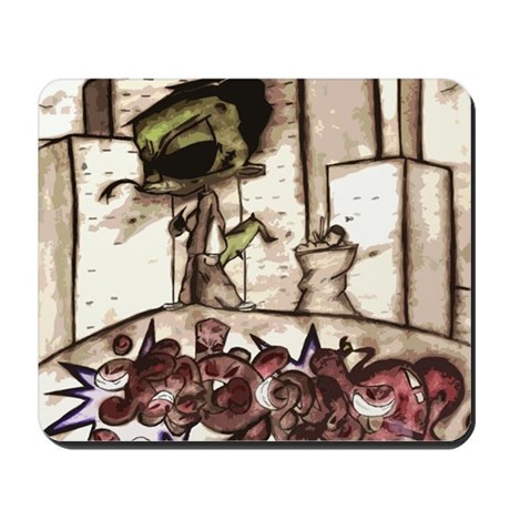 GECKOCITY Graffiti Art Mousepad