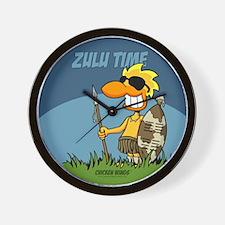 """Zulu Time"" Wall Clock"