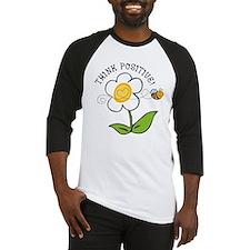 Think Positive Bee Baseball Jersey